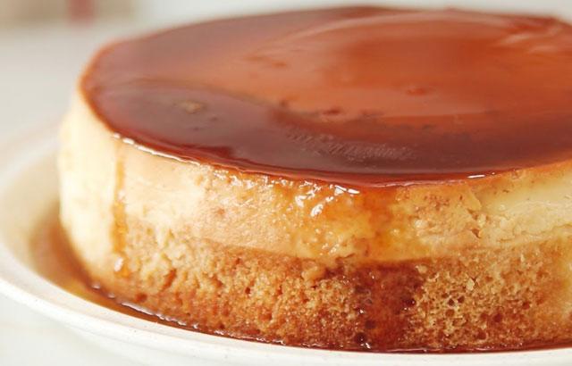 cake au flan caramel au Thermomix