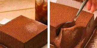 Flan au chocolat avec Thermomix
