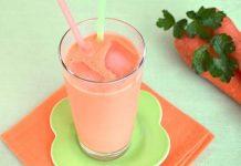 Milk-shake aux carottes au Thermomix