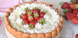 tiramisu aux fraises avec Thermomix