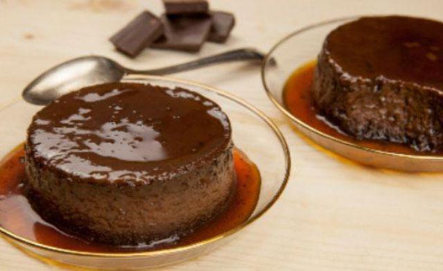 crème caramel au chocolat avec Thermomix