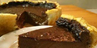 flan pâtissier au chocolat avec Thermomix