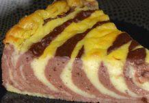 flan pâtissier marbré au Thermomix