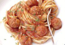 spaghettis aux boulettes de thon WW
