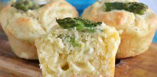 Muffins aux asperges ww
