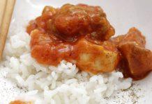 Poulet à la sauce tomate et poivron au Thermomix