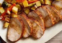 Rôti de porc à la moutarde avec cookeo
