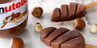 bâtons glacés au Nutella Thermomix