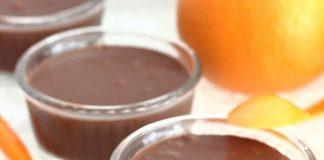 crème au chocolat et à l'orange au Thermomix
