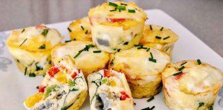 muffins aux oeufs et légumes WW