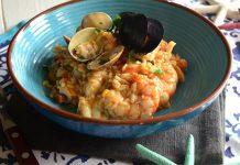 risotto aux fruits de mer