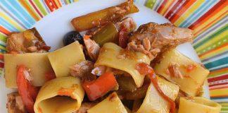 Pâtes aux poivrons et thon WW