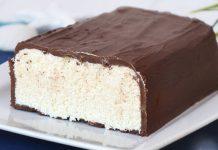 gâteau glacé façon Bounty au Thermomix