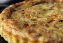 Quiche Sans Pâte au Thon et Champignons WW