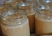 yaourt au caramel au beurre salé au Thermomix