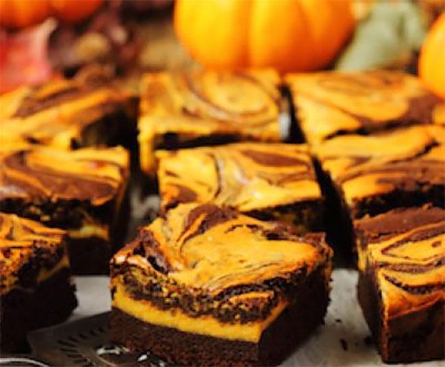 Brownies au potiron avec Thermomix