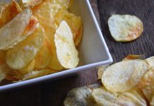 Chips légères au micro-ondes WW