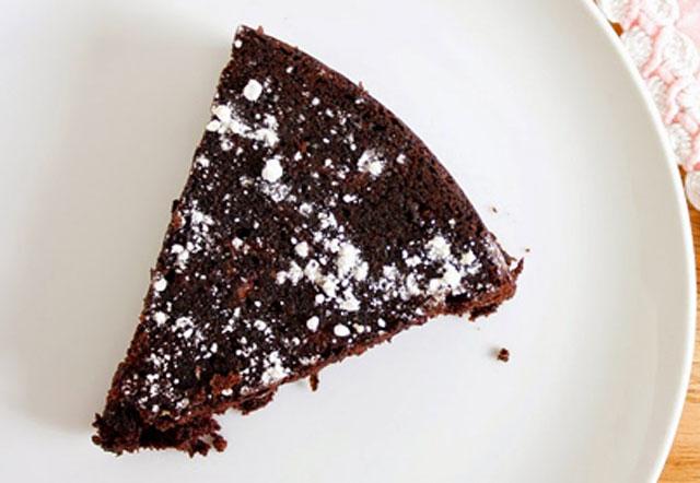 Moelleux Léger au Chocolat Sans Beurre et Sans Farine WW