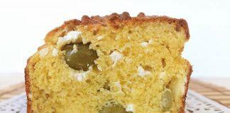 Cake salé à la feta et aux olives vertes au Thermomix