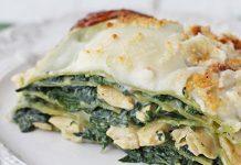 lasagnes au poulet aux épinards WW