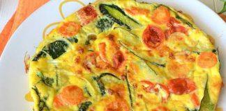 Omelette de Légumes au Four WW