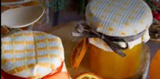 confiture d'orange au curcuma au Thermomix