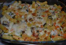 Gratin Léger de Pâtes aux Légumes WW
