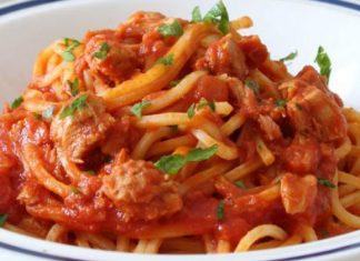 Spaghettis à la Sauce au Thon WW