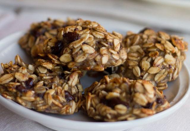 Biscuits Légers aux Flocons d'Avoine et Chocolat WW