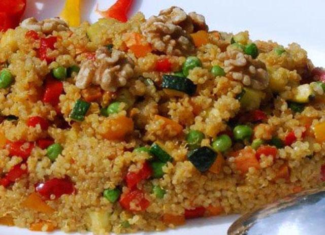 Poêlée de Quinoa et Légumes WW