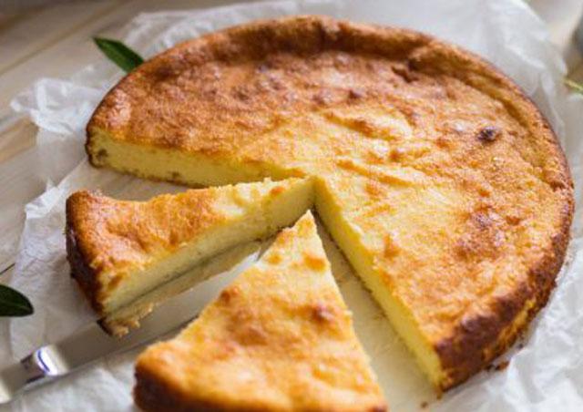 Gâteau Léger au Citron et au Skyr à 1 Sp