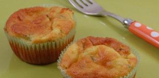 muffins salés au yaourt et légumes WW
