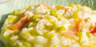 risotto aux poireaux et au jambon WW