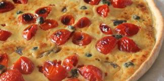 Tarte Salée au Thon et Tomates Cerises WW