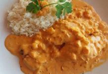 Saumon à la Sauce aux Crevettes au Thermomix