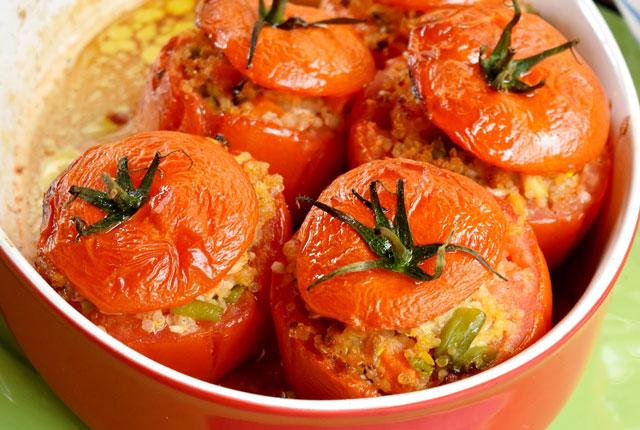 Tomates Farcies au Thon et Quinoa WW