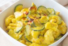 Poulet aux Courgettes et au Curry WW