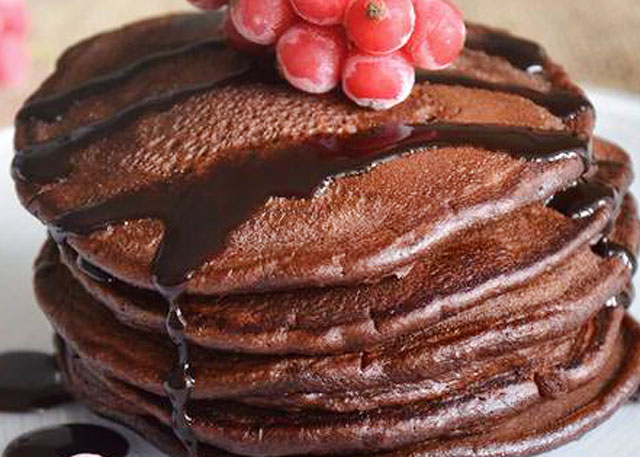 pancakes au chocolat au Thermomix