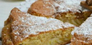 Gâteau de Pomme à la Crème Fraîche au Thermomix