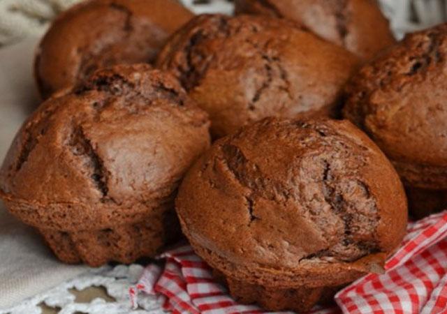 Muffins Légers au Chocolat et Ricotta WW