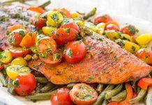 Saumon aux légumes avec Cookeo