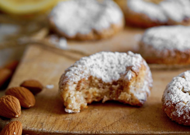 biscuits croquants aux amandes et citron au Thermomix